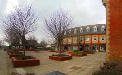 The Square, Martlesham Heath