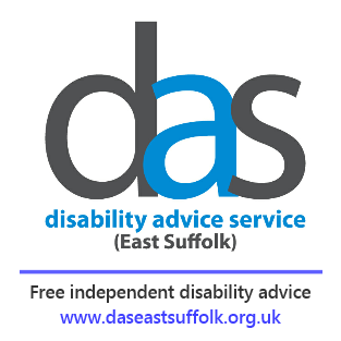 DAS logo. Free independent disability advice