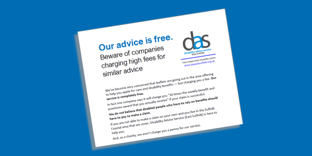 Our advice is free graphic