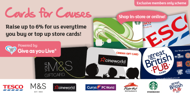 Cards for causes graphics