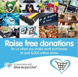 Give as you Live business graphic
