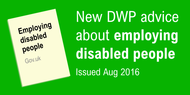 Employing disabled people graphic