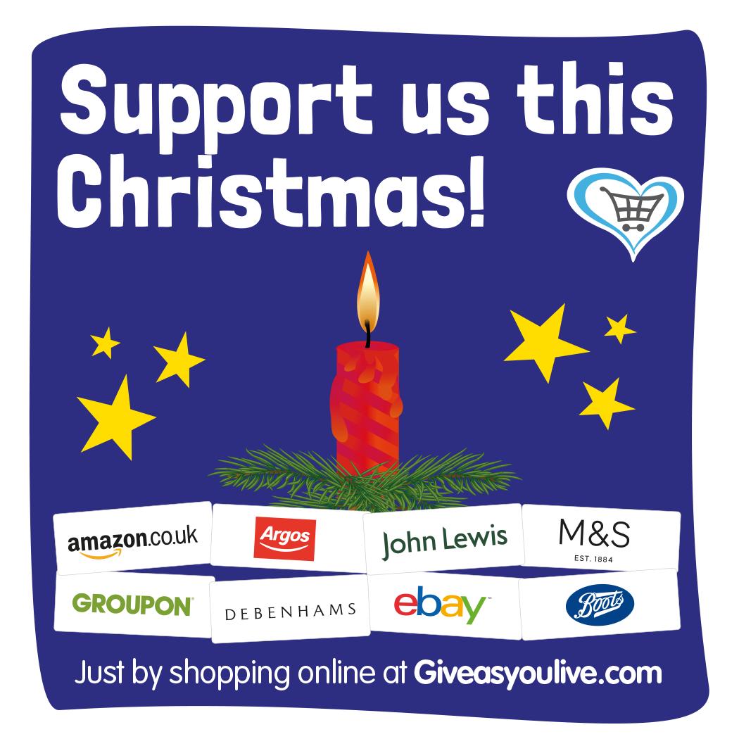 Christmas Give as You Live graphic