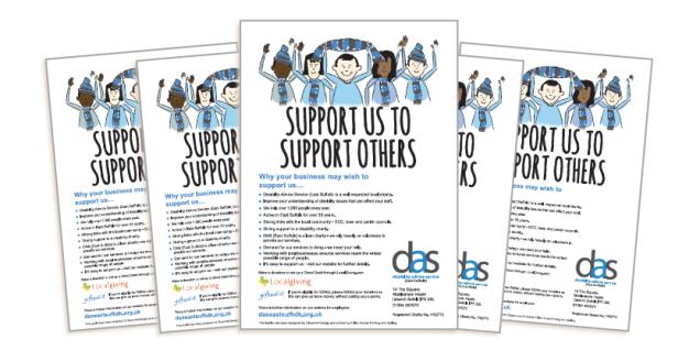 Employer leaflet collage