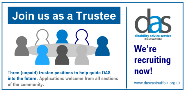 Join us as a trustee graphic