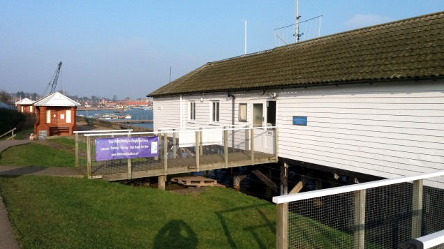 Deben Yacht Club, Woodbridge, Suffolk UK