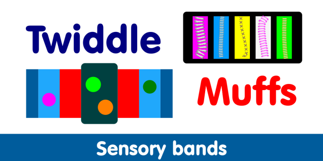 Twiddle muffs (sensory bands) graphic