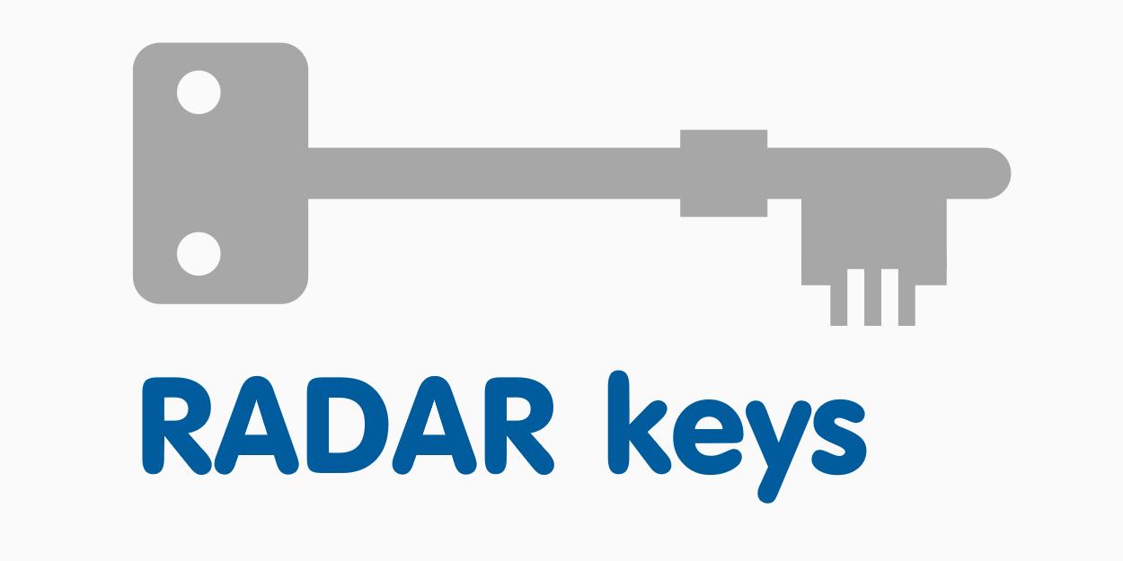 RADAR keys (National Key Scheme) now available from DAS